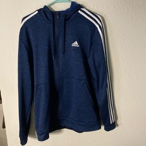 Adidas Navy Athletic Jacket.